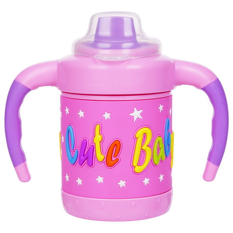 Non Spill BPA Free Multicolo 6 Month 6 Ounce Baby Sippy Cup
